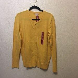 Mernora Yellow Sweater Long sleeve XL